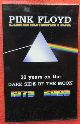 "PINK FLOYD LAMINATED PASS ""DARK SIDE OF THE MOON"" 30th ANNIVERSARY 1973-2003"""