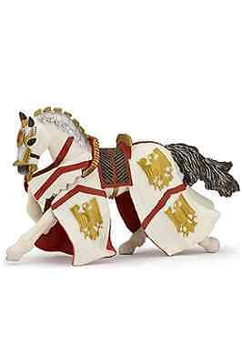 Papo Figurine Knights - Papo KNIGHT PERCIVAL HORSE Toy Figurine Fantasy Play Knight Castle 39334 NEW