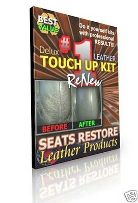 JAGUAR - DOVE Leather Color TOUCH UP KITS - Code LHJ - XJ6/XJS/XJ8/X-TYPE/S-TYPE