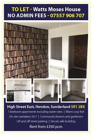 Luxury 1 Bedroom Accommodation within the Heart of Sunderland Watts Mosses House with bills included