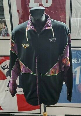 Maillot jersey maglia porte worn shirt sco angers XL france duarig vintage 1993 image
