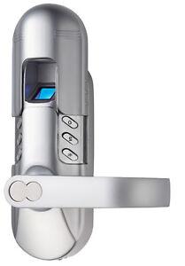 weatheproof digi electronic keypad door fingerprint lock 6600 98 right handle ebay. Black Bedroom Furniture Sets. Home Design Ideas