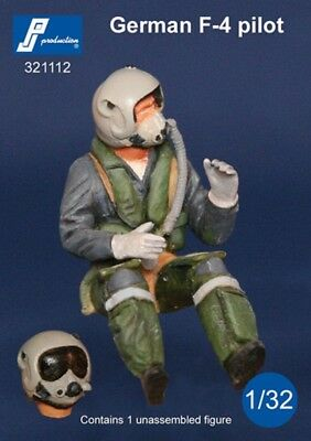 1/32 PJ PRODUCTION GERMAN F-4 PILOT SEATED IN A/C for sale  Killeen