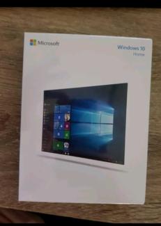 Brand new copy of windows 10