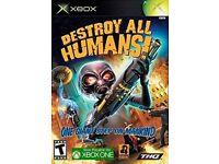 Destroy All Humans (Xbox Original)