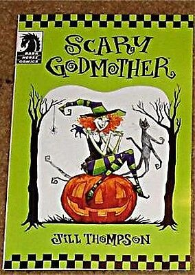 Halloween Promotional Giveaways (SCARY GODMOTHER DARK HORSE 2011 ASHCAN MINI HALLOWEEN GIVEAWAY PROMO)