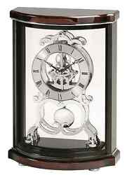 Luxurious Skeleton Table Clock, Modern Office Tabletop Desk Mantle Top Shelf New