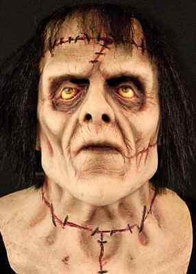 Monster Mask Frankenstein Fancy Dress Halloween Deluxe Adult Costume Accessory - Frankenstein Halloween Mask