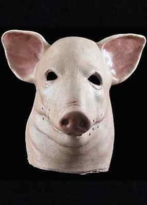 Blood Pig Mask Dead Head Scary Fancy Dress Halloween Adult Costume Accessory](Scary Pig Halloween Mask)
