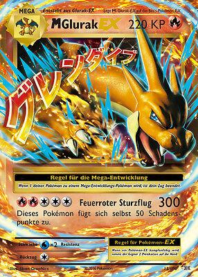 Pokemonkarte M Glurak EX, Evolution, 13/108