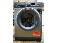 Hotpoint Silver 8kg Washing Machine ***FREE DELIVERY & CONNECTION***3 MONTHS WARRANTY***