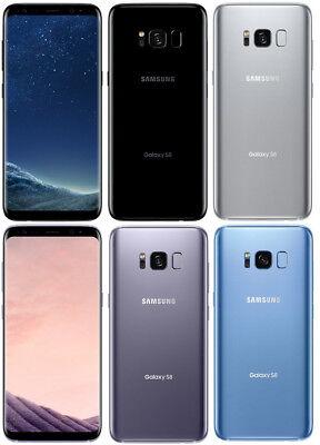 Samsung Galaxy S8 Edge - GSM Unlocked Android Smartphone - ATT T-Mobile -