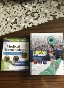 Medical Terminology and/or Human Physiology Textbooks