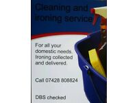 Cleaning &Ironing Service