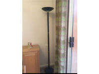 Tall Black Lamp for Sale £10