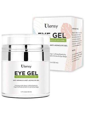 Ulensy Eye Gel Cream, Eye Gel Cream for Dark Circles,best Anti Aging Eye