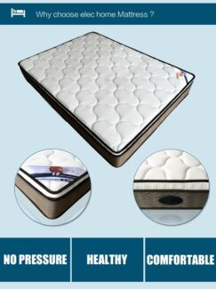 Brand New 100% Natural Latex EuroTop Pocket Spring Mattress
