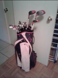 Wilson platinum Hope breast cancer golf clubs