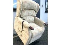 Very good condition HSL Dual motor Riser and Recliner chair.