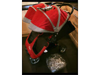Double buggy Twin pushchair by City Jogger