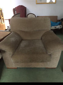 M&S large chunky arm chair