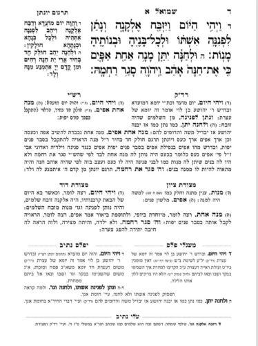 ספר יפלס נתיב - שמואל א 5