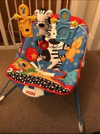 Fisher Price immaculate baby bouncy chair