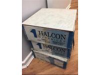 Grey Floor tiles by Halcon - 4.5 square Meter - bathroom or kitchen