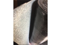 Brand New Green Mineral Felt Torch On Roofing Felt Roll 12m x 1m