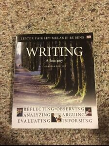 Writing a journey textbook