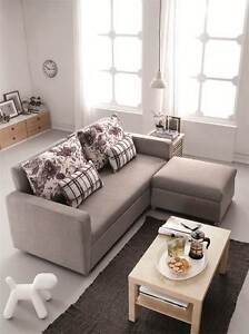 Stella Compact 3 seater sofabed with modern contemporary style. Homebush West Strathfield Area Preview