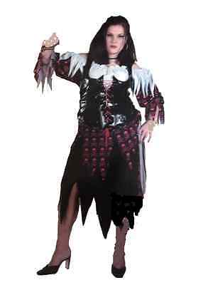 Pirate Wench Plus Size Deluxe Costume with Lace-up Corset - Pirate Costumes