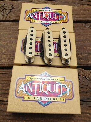Seymour Duncan Antiquity Neck - NEW Seymour Duncan Antiquity for Strat Texas Hot SET Stratocaster Pickups