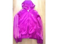 Adidas girls jackets - 2 Different ColoursPurple & Pink 11/12 years