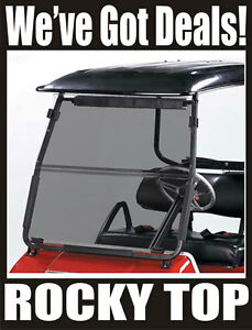 Tinted-Fold-Down-Golf-Cart-Windshield-Club-Car-DS-2000-5-Up