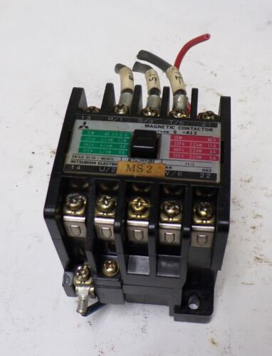 MITSUBISHI ELECTRIC CORP, MAGNETIC CONTACTOR, A12, TYPE S
