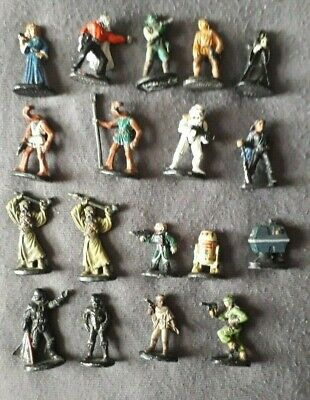 West End Games Star wars miniatures random lot grenadier metal vintage