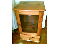 Pine cabinet for sale.
