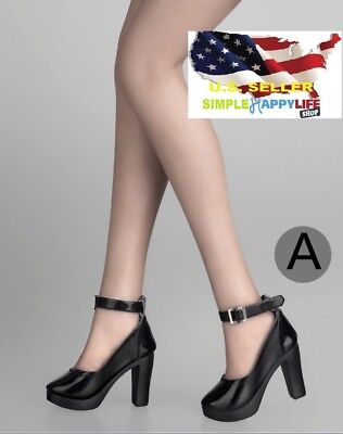 MagiDeal 16 Scale Women's High Heel Shoes Fit 12 Inch Female Phicen Action Figure