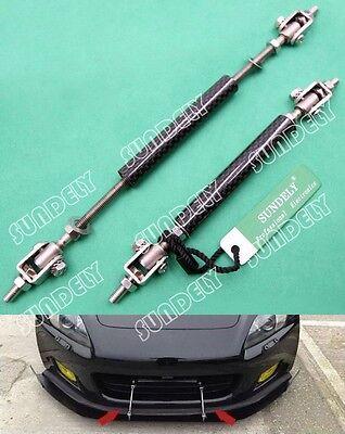 UNIVERSAL Carbon Fiber Frame Bumper Rod Splitter Strut Bar Support 4.5