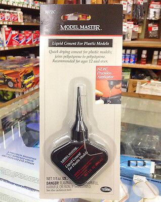 Testors Model Master Liquid Plastic Model Cement Glue 1 oz TES8872C 8872C