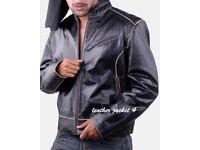 Arkansas moto leather jacket
