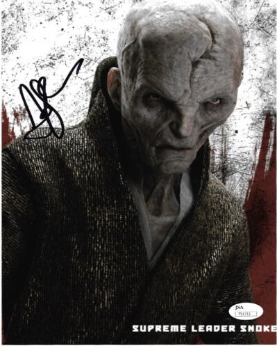 Andy Serkis Star Wars Autographed Signed 8x10 Photo JSA COA #S9