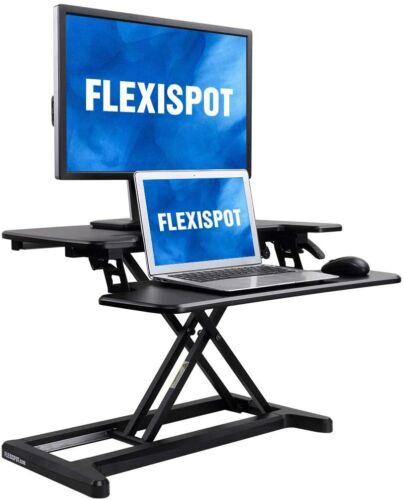 """Home Office Standing Desk Converter Stand Up Desk Adjustable Desk  28"""" Riser"""