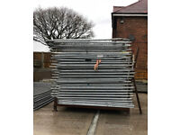 HERAS TEMPORARY SECURITY FENCE PANELS > USED 🏗