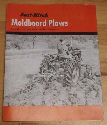 Ih Farmall Fast Hitch Moldboard Plows Farmall Cub 130 Tractors Promo Brochure