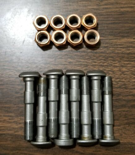 Lycoming Connecting Rod Bolt Nut Set of 8. AEL75060