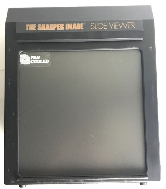 Vintage Sharper Image 35mm Magnifying Slide Viewer SM425