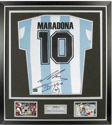 Camiseta Argentina Mundial 86 Firmada Maradona. WC 86 Signed By Maradona...