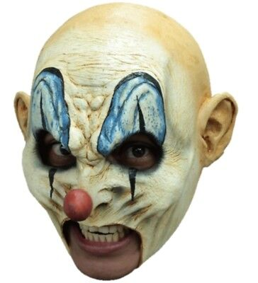 Krumpy With Teeth Latex Mask Killer Clown Open Mouth Prosthetic Adult Halloween](Clown Prosthetic Halloween Mask)